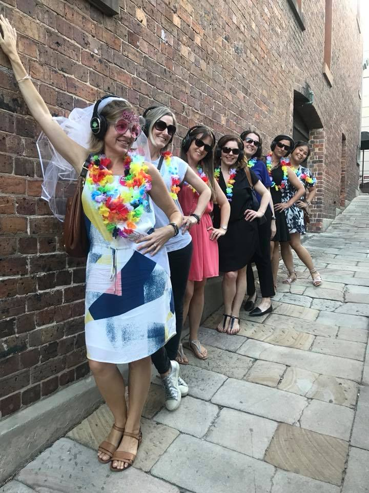Hens parties. Silent Disco Tours